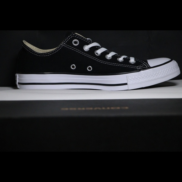 858c9837833a Converse Classic Black All Star Low Top
